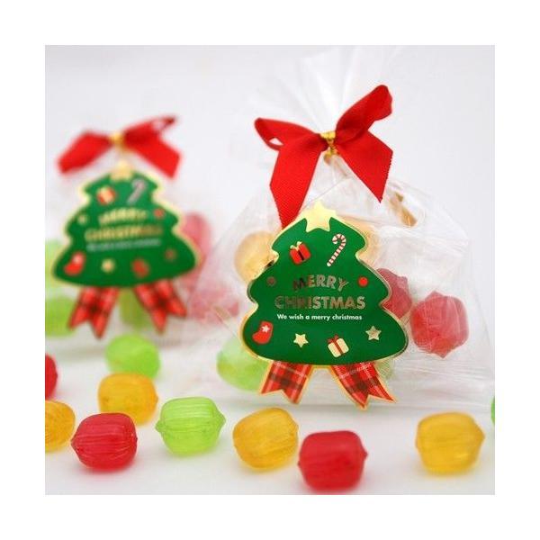 クリスマス ブライダル プチギフト まとめ買い クリスマスキャンディー 2ケース(100個)