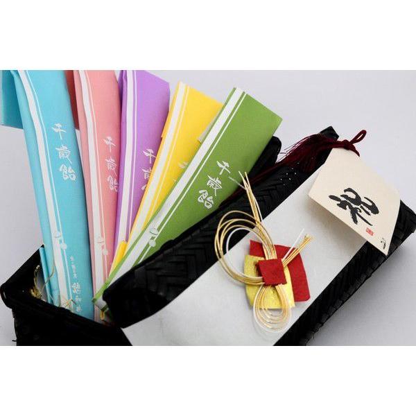 千歳飴 5本 赤・白・紫・黄・緑 七五三 内祝い お祝 京都 のりとばこ