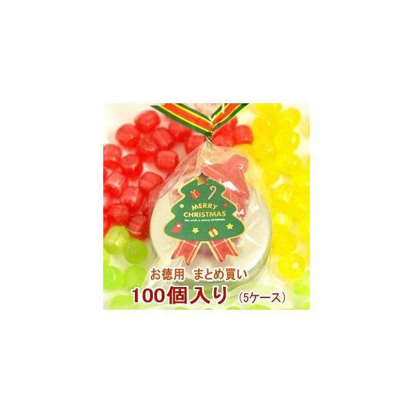 クリスマス お菓子 業務用 まとめ買い クリスマスキャンディ 缶 5ケース(100個)
