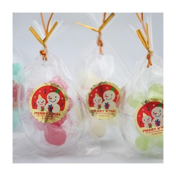 クリスマス 飾り オーナメント キャンディ お菓子 手作り 業務用 エッグ型 3ケース(90個入り)格安