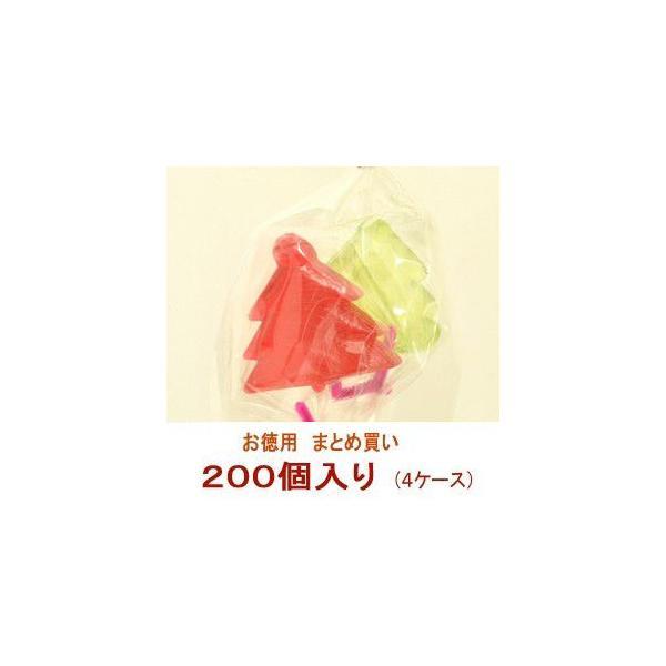 クリスマス お菓子 業務用 まとめ買い クリスマスツリー キャンディ 4ケース(200個)