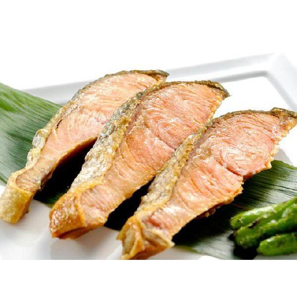 新巻鮭寒風干し 10切 北海道産 送料別|iwamatsu-salmon|02