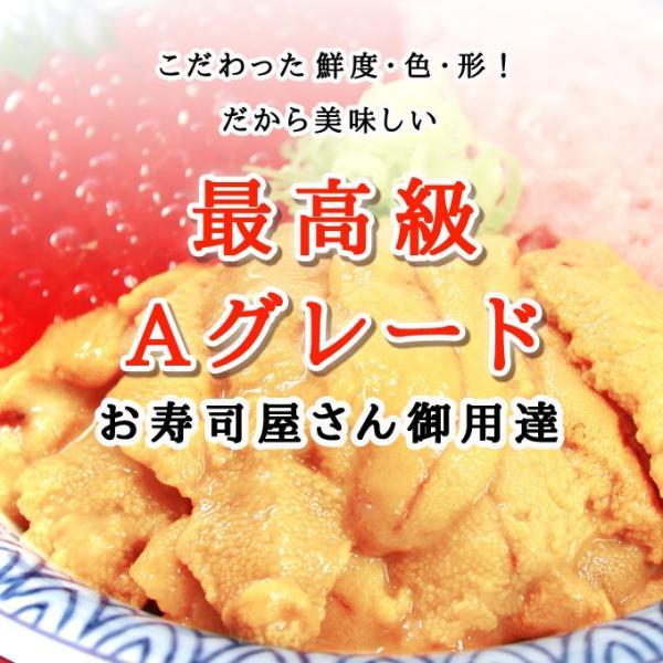 生ウニ  100g 3パック 無添加 刺身 天然 送料無料  ギフト あすつく|iwamatsu-salmon|03