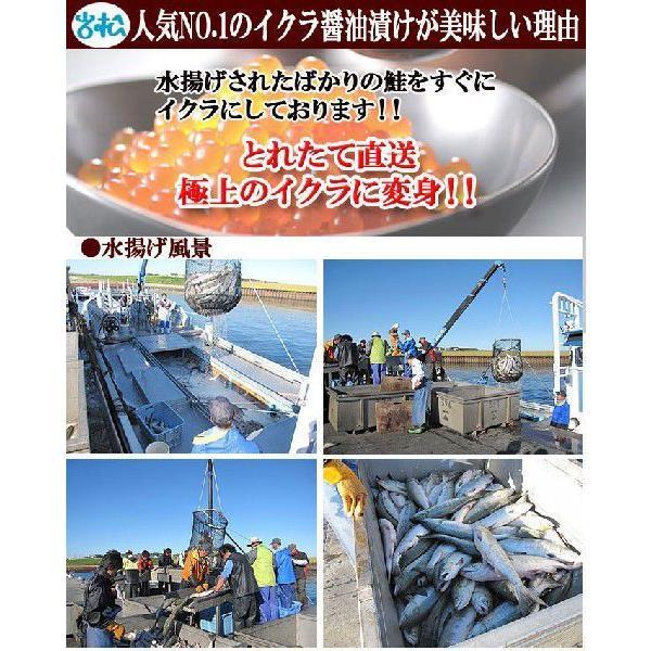いくら醤油漬け500g 北海道産 送料無料|iwamatsu-salmon|06