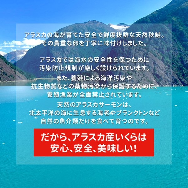 いくら 醤油漬け 鮭専門店の イクラ 500g アラスカ産 国内 加工 送料無料 お歳暮 ギフト|iwamatsu-salmon|04