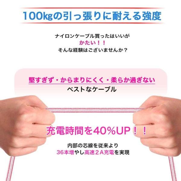 Android アンドロイド  1m microUSB Tyep-B 充電ケーブル スマホケーブル 充電器 Xperia Nexus Galaxy AQUOS 多機種対応 iwamatsu 04