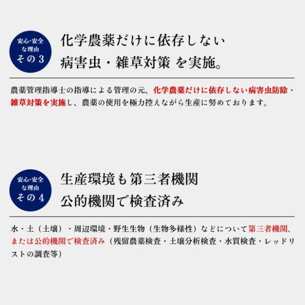 令和元年産 福島県 中通産 ひとめぼれ 精白米 900g(300g×3袋)  須賀川市産  JGAP 白米 米 こめ お米|iwaseno-kinnsyuumai|04