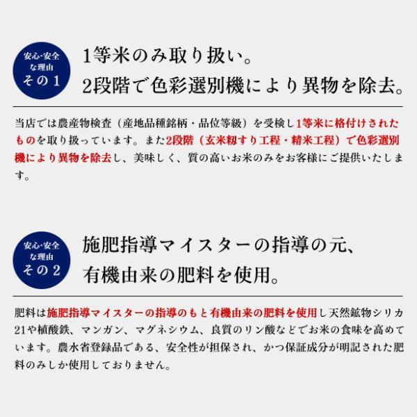 平成30年産  福島県 中通産 コシヒカリ 玄米 (5kg×5袋)  須賀川市産  JGAP 白米 米 こめ お米  25kg 米25kg|iwaseno-kinnsyuumai|03