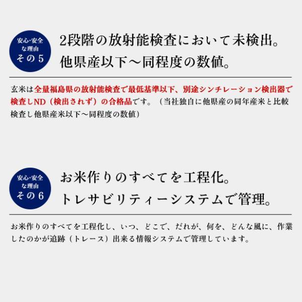 平成30年産  福島県 中通産 コシヒカリ 玄米 (5kg×5袋)  須賀川市産  JGAP 白米 米 こめ お米  25kg 米25kg|iwaseno-kinnsyuumai|05
