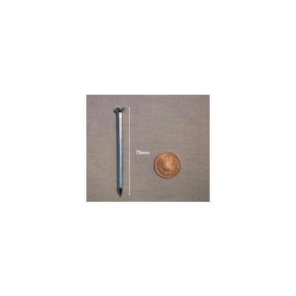 コンクリート釘 #10(3.4mm)×75mm×6kg|iwauchi-kanamonoten