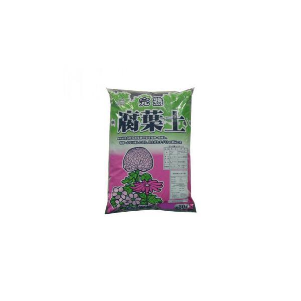 【代引き不可】あかぎ園芸 腐葉土 20L 4袋