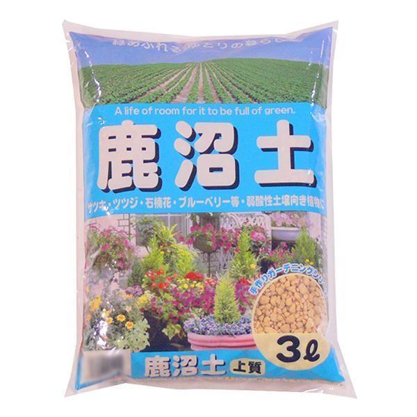 【代引き不可】あかぎ園芸 鹿沼土 3L 10袋