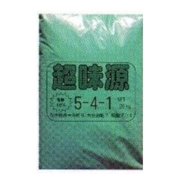超味源 有機質5-4-1/ペレット20kg iyasaka-shop