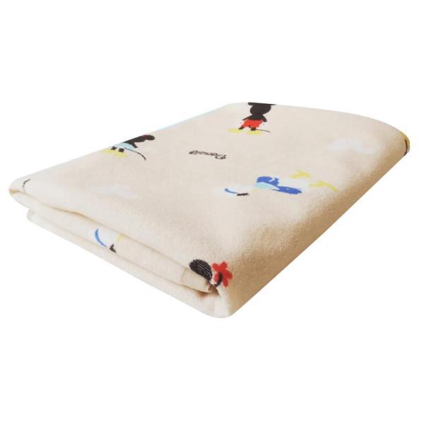 ディズニー パイル生地防水シーツ(おねしょシーツ) ダブル 140×205cm SB-329取り付け簡単 洗濯 かわいい