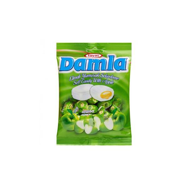 【代引き・同梱不可】tayas(タヤス) ダムラ アップルソフトキャンディ 90g×24セット