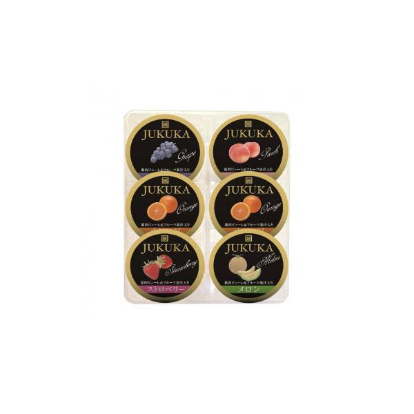 【代引き・同梱不可】金澤兼六製菓 詰め合せギフト BOX熟果ゼリーアソート 6個入×20セット JK-6