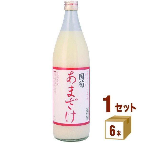 篠崎 国菊あまざけ(甘酒) 900ml(6本入)|izmic-ec