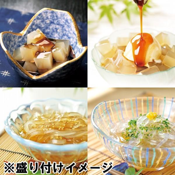 生ところてんセット ところてん4-6食分と2種類のタレと突き棒のセット 伊豆産天草使用