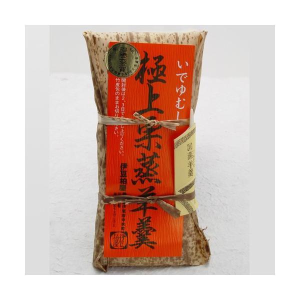 いでゆむし極上栗蒸羊羹(大)|izukashiwaya