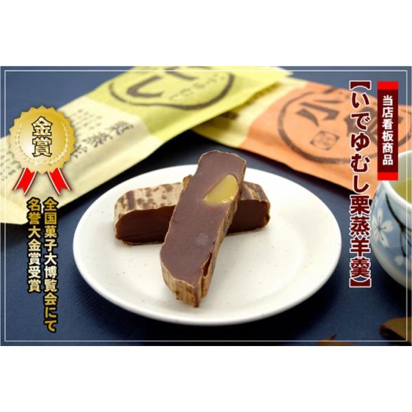 いでゆむし羊羹5本入|izukashiwaya|03