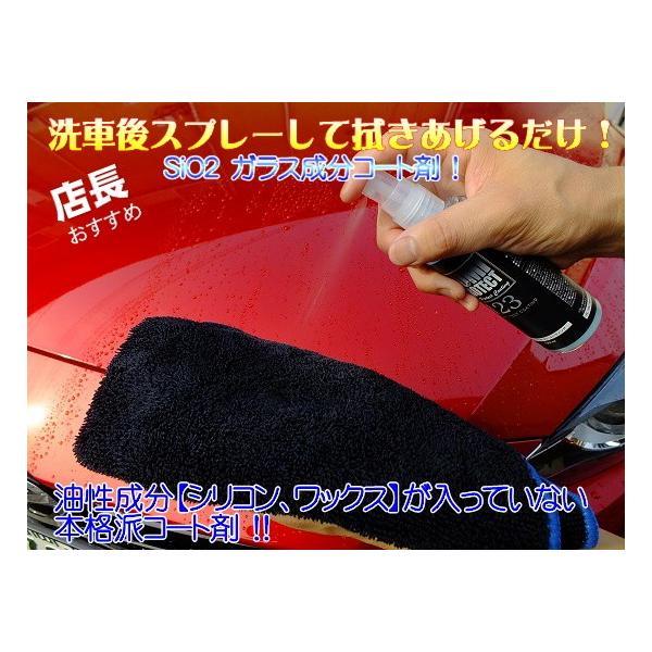 イズミプロテクトコーティング ガラス系コーティング剤 ボディガラスコーティング施工車のメンテナンスに最適 プロの施工マニュアル付き(お得なセット商品)|izumicleanpro|02