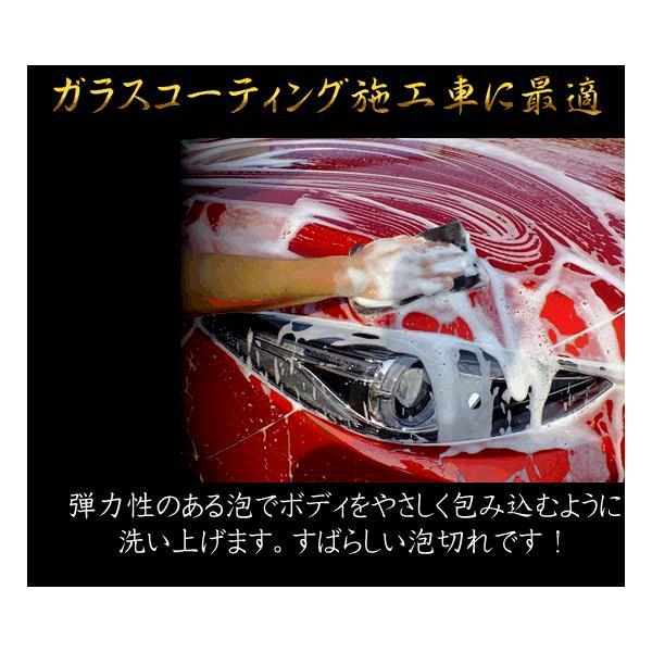 イズミカーシャンプー ガラスコーティング施工車専用 カーシャンプー スポンジ・クロスとプロの施工マニュアル付(お得なセット商品)|izumicleanpro|02