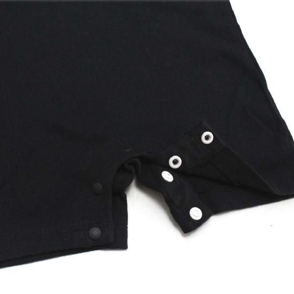 ロンパース ベビー服 ゴルフ柄 ベビーゴルファー 綿100% 70cm・80cm ブラック・オフホワイト izumigolf 05