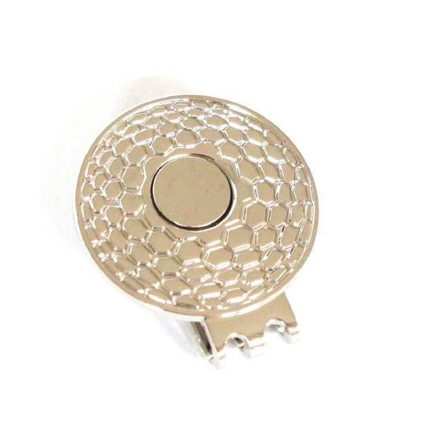 ゴルフボールマーカー クリスタル ハート レッド・ピンク ゴルフボール型ハットクリップ付|izumigolf|07