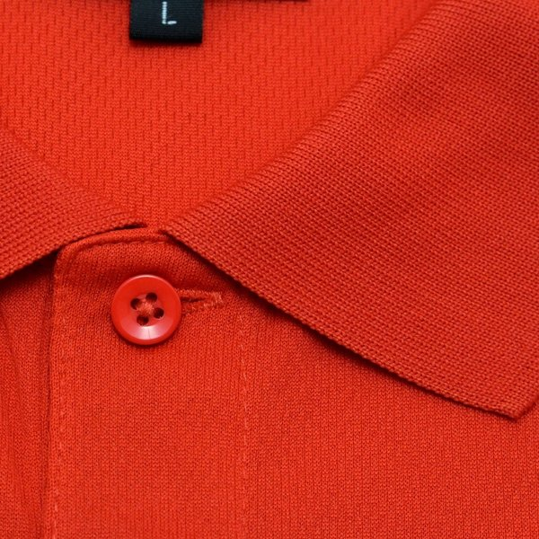 ライトドライポロシャツ 半袖 吸汗&速乾  ゴルフエンブレム レッド サイズM・L|izumigolf|04