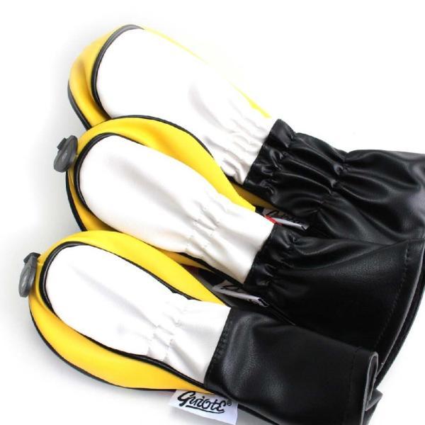 ゴルフ GUIOTE ヘッドカバー 4点セット ビール beer ブラック #1・#3・#5・H ドライバー・フェアウェイウッド・ユーティリティー|izumigolf|02