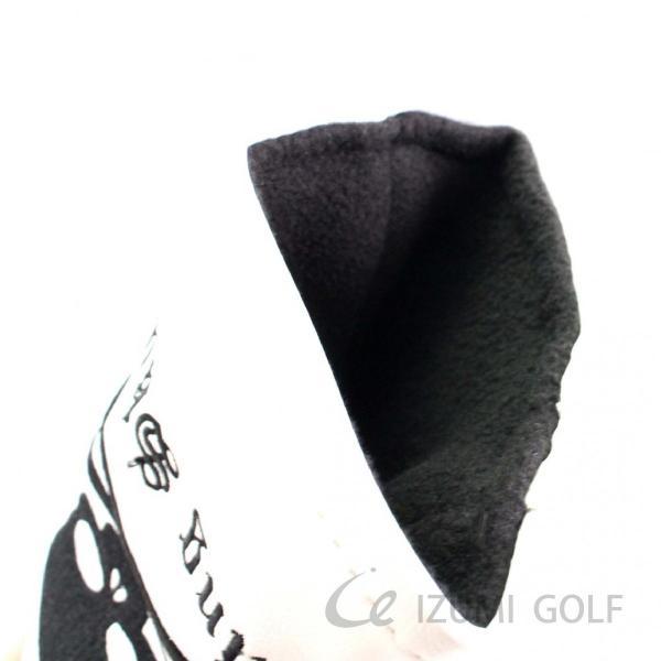 ゴルフ GUIOTE ヘッドカバー 4点セット スカル ホワイト #1・#3・#5・H ドライバー・フェアウェイウッド・ユーティリティー|izumigolf|04