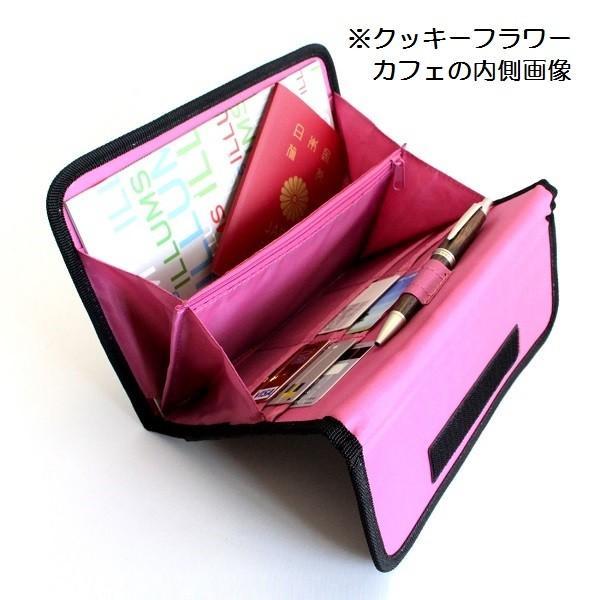 ハンナフラ ジャバラケース B6サイズ収納 カラフルりんご|izumigolf|04