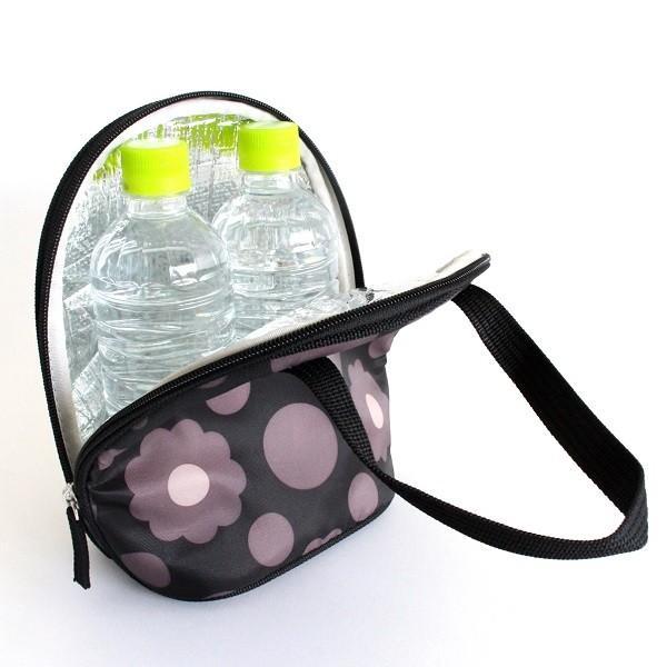 ハンナフラ 保温保冷 ツインマグポーチ 500mlペットボトル2本用 ゴルフ ラウンド クッキーフラワーカフェ|izumigolf|05