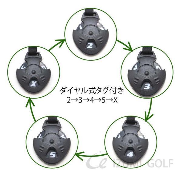 ゴルフ ヘッドカバー 4点セット カモフラージュ PUレザー ドライバー・フェアウェイウッド・ユーティリティー  ダイヤル式ナンバータグ付(FW・UTのみ) izumigolf 04