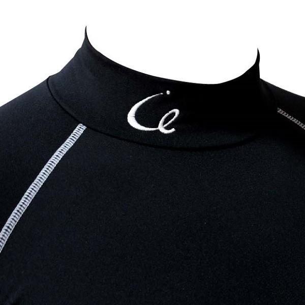 スポーツ アンダーウエア / ストレッチインナー 裏起毛 メンズ ブラック M・L・LL|izumigolf|04