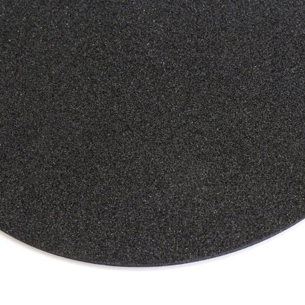 ゴルフボール型 マウスパッド 直径180mmx厚み3mm ホワイト izumigolf 05
