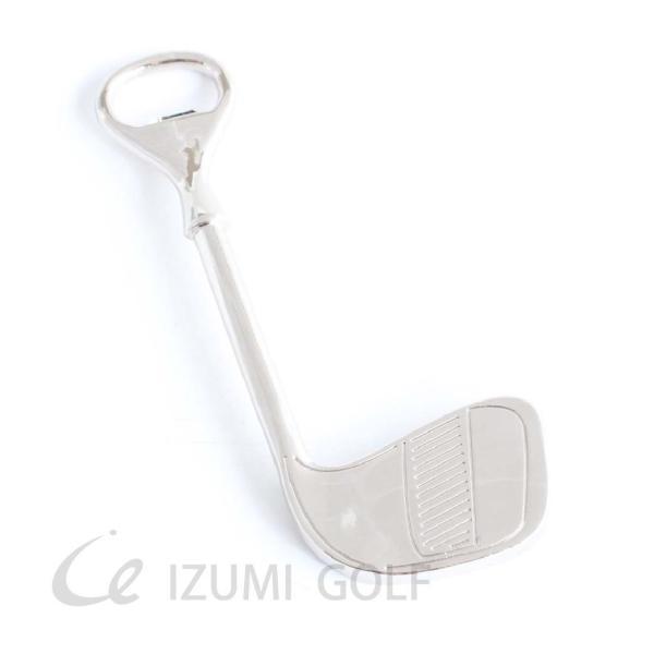ボトルオープナー ゴルフクラブ型栓抜き Bottle Opener  長さ120mm|izumigolf