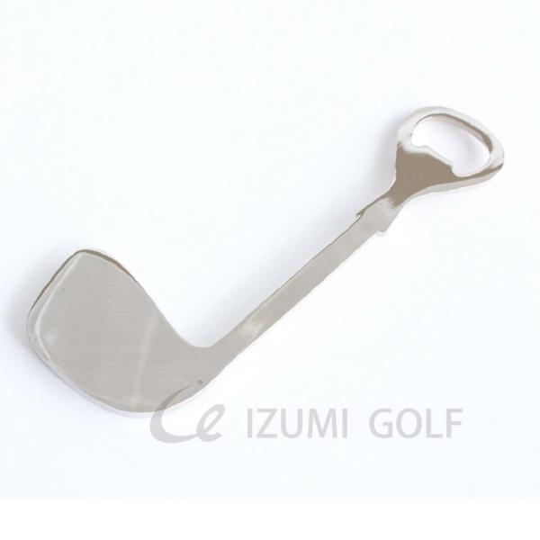 栓抜き ゴルフ ボトルオープナー ゴルフクラブ型 Bottle Opener 長さ120mm|izumigolf|02