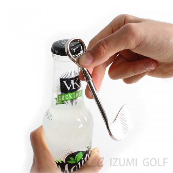 ボトルオープナー ゴルフクラブ型栓抜き Bottle Opener  長さ120mm|izumigolf|04