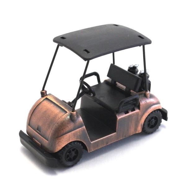 ペンシルシャープナー / 鉛筆削り ゴルフカート Golf Cart 文房具 置物 カラー:ブロンズ |izumigolf