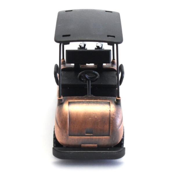 ペンシルシャープナー / 鉛筆削り ゴルフカート Golf Cart 文房具 置物 カラー:ブロンズ |izumigolf|03