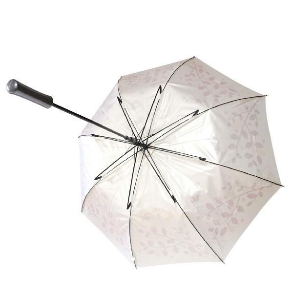 ゴルフ傘 レディース 耐風 クローバー柄 UV加工 晴雨兼用 親骨65cm ギフトラッピング無料|izumigolf|06