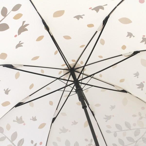 ゴルフ傘 レディース 耐風  ツリー&バード柄 UV加工 晴雨兼用 親骨65cm ギフトラッピング無料|izumigolf|04