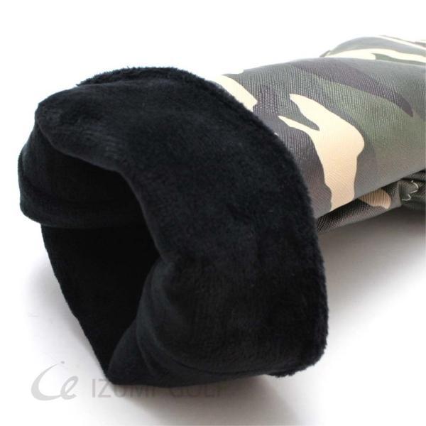 ゴルフ ヘッドカバー ユーティリティ用 camouflage カモフラージュ柄 PUレザー ダイヤル式ナンバータグ付 izumigolf 04