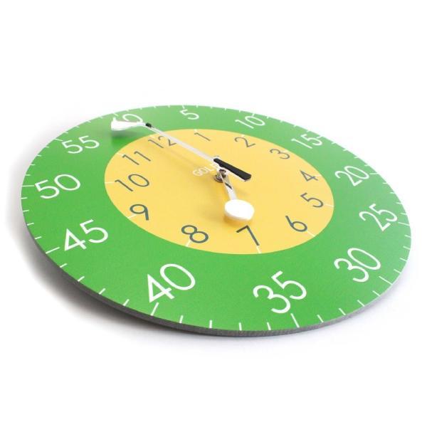 ゴルフ 掛け時計 ウォールクロック 木製 ゴルフクラブ&ゴルフボールの時計針 直径30cm スイープムーブメント 静音 インテリア ギフト ゴルフコンペ|izumigolf|03