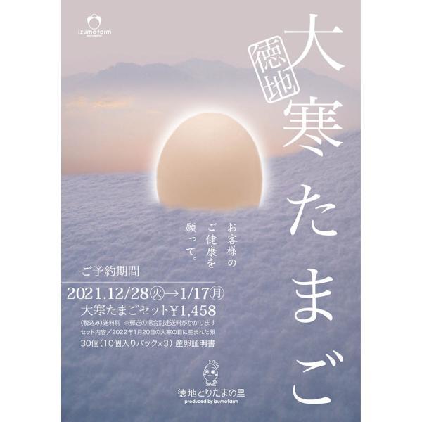 徳地大寒たまご30個入り 産卵証明書付き|izumofarm|03