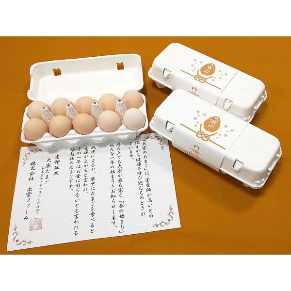 徳地大寒たまご30個入り 産卵証明書付き(予約期間1月18日まで)|izumofarm|02