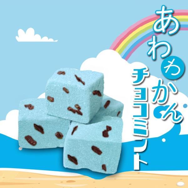 10個 あわわかん・チョコミント チョコミント チョコレート ミント 寒天 メレンゲ 寒天ゼリー 贈り物 プチギフト プレゼント お土産