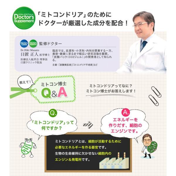 ミトコンドリア サプリメント ミトコンサプリP3 約1ヶ月分 30袋 トライアル お試し はじめて 初回限定 女性 男性 DHA|j-cosme|05