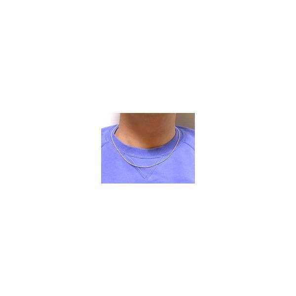 シルバー925 シルバー チェーン レディース メンズ ネックレス ボール 2.0mm 長さ50cm ネックレス チェーン シンプル 男性 女性 ペア にも 大きいサイズ 可愛い